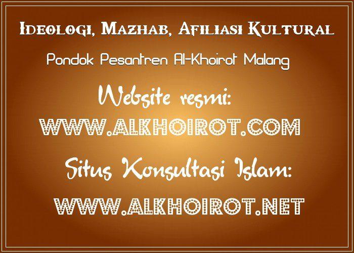 Pesantren Ideologi, Mazhab, Afiliasi Kultural