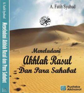 Buku Meneladani Akhlak Rasul dan Para Sahabat
