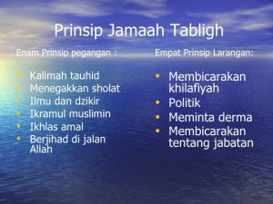 jamaah tabligh