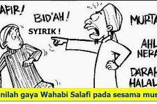 Beda Wahabi, HTI, Jamaah Tabligh dan Syiah