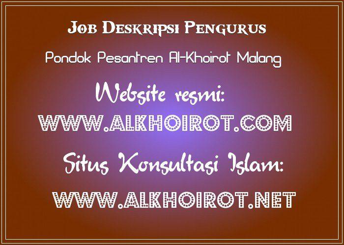 Pengurus Pesantren Al-Khoirot