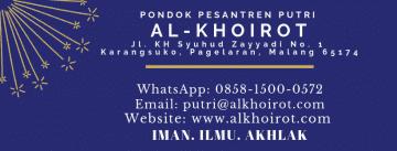 logo pondok pesantren putri Al-Khoirot